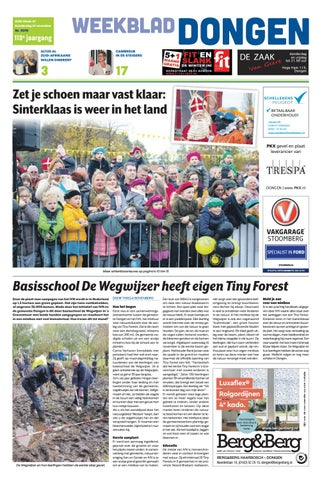 Weekblad Dongen 21 11 2019 By Uitgeverij Em De Jong Issuu