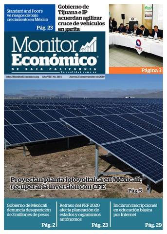 Monitor Económico By Grupo Multimedia Frontera Norte Issuu