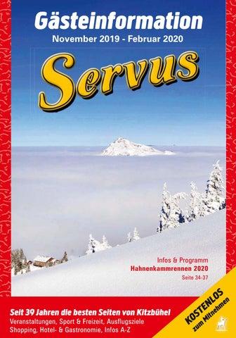 Servus Kitzbühel 1. Winterausgabe 20192020 by kitzanzeiger