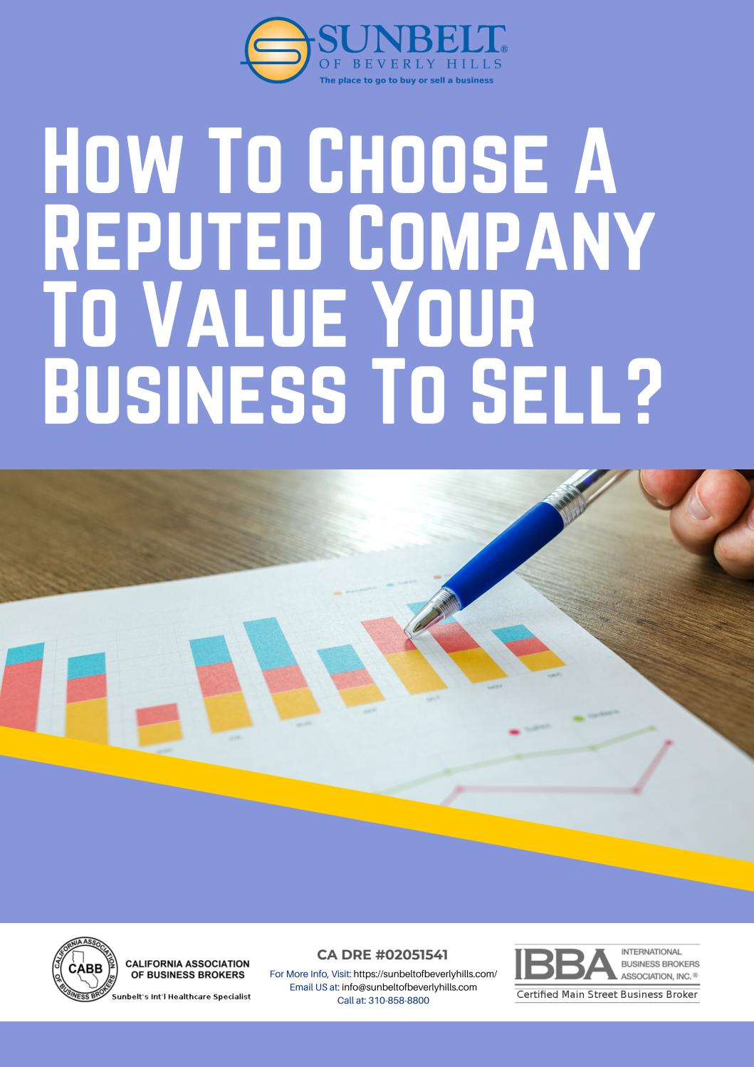 How To Choose A Reputed Company To Value Your Business To Sell By Cisdeepak Issuu