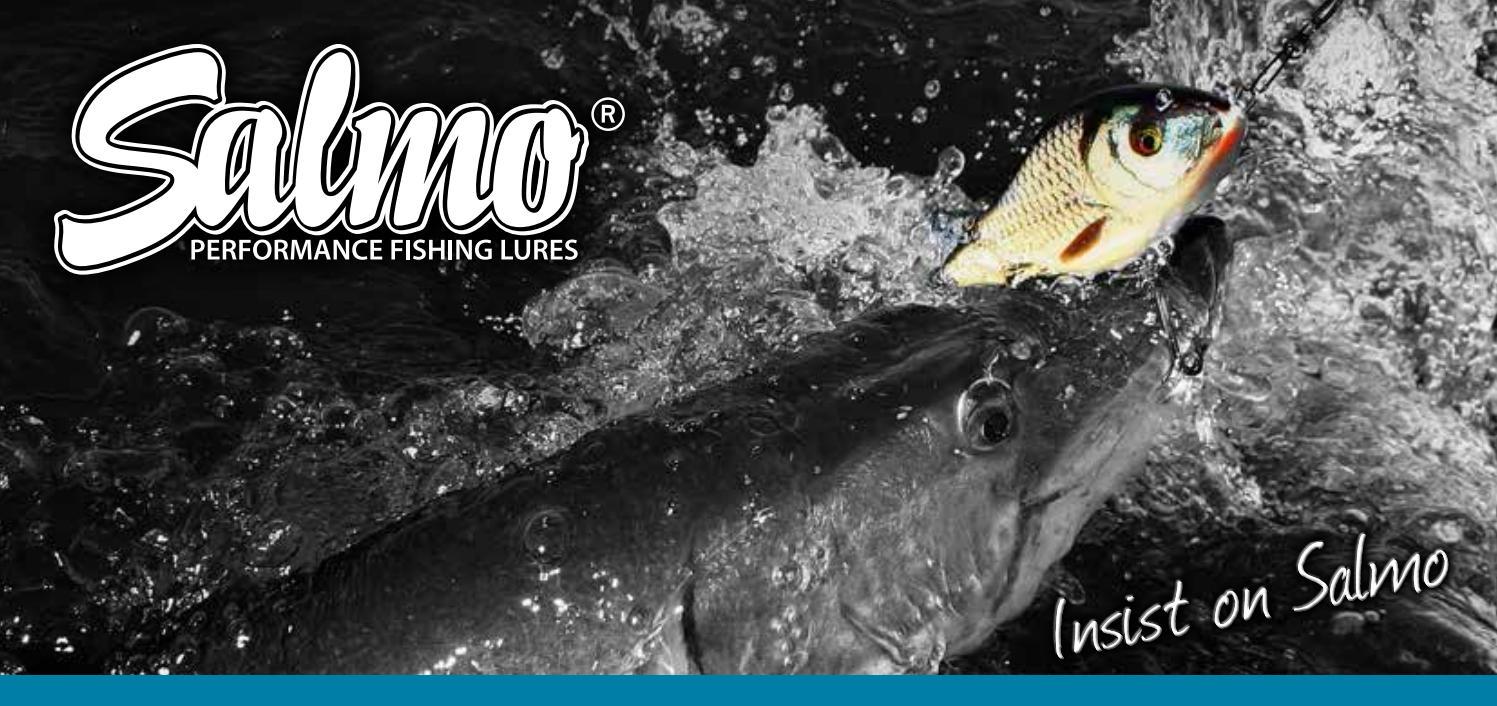 Salmo Hornet Wobbler holo grey shiner HGS