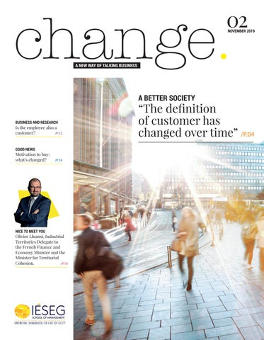 Change A New Way Of Talking Business Iéseg Magazine