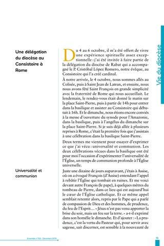Page 15 of Vie du diocèse de Rabat
