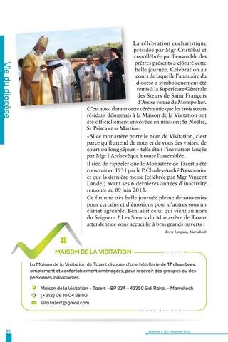 Page 20 of Baptisés, envoyés, soyons sacrements de la rencontre