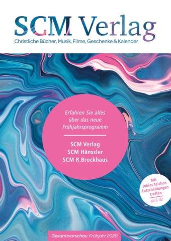 Scm Verlag Gesamtvorschau Frühjahr 2020 By Scm Verlagsgruppe