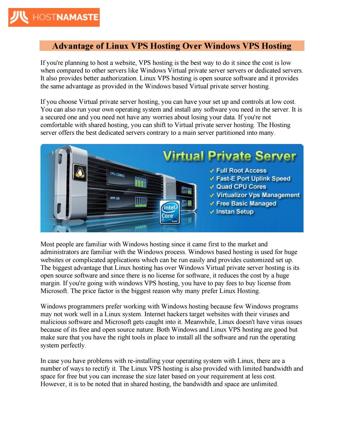 virtual dedicated server что это