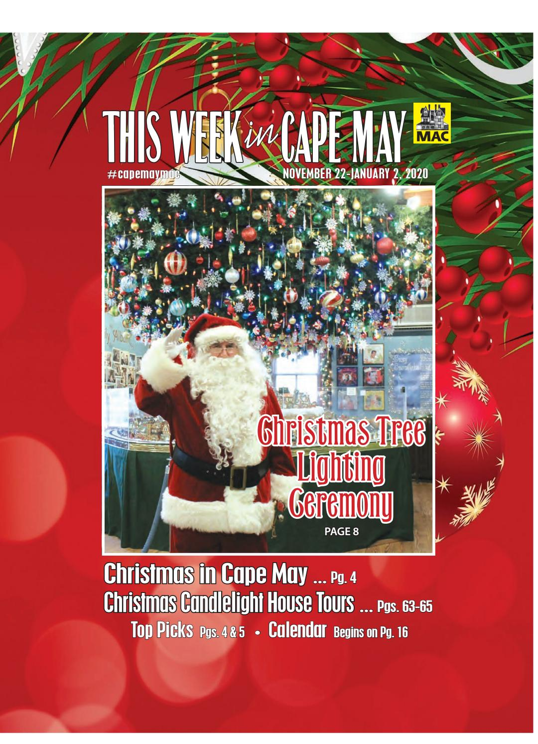 Christmas In Cape May 2020 This Week in Cape May: Nov. 22 Jan. 2, 2020 by This Week in Cape