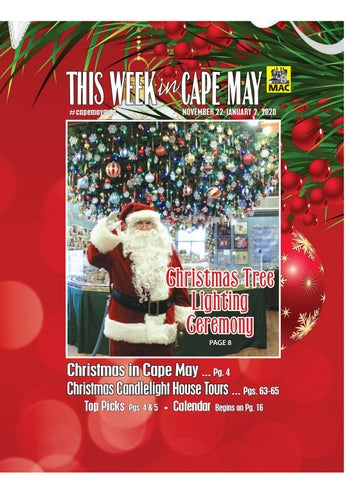 Cape May Christmas 2020 This Week in Cape May: Nov. 22 Jan. 2, 2020 by This Week in Cape