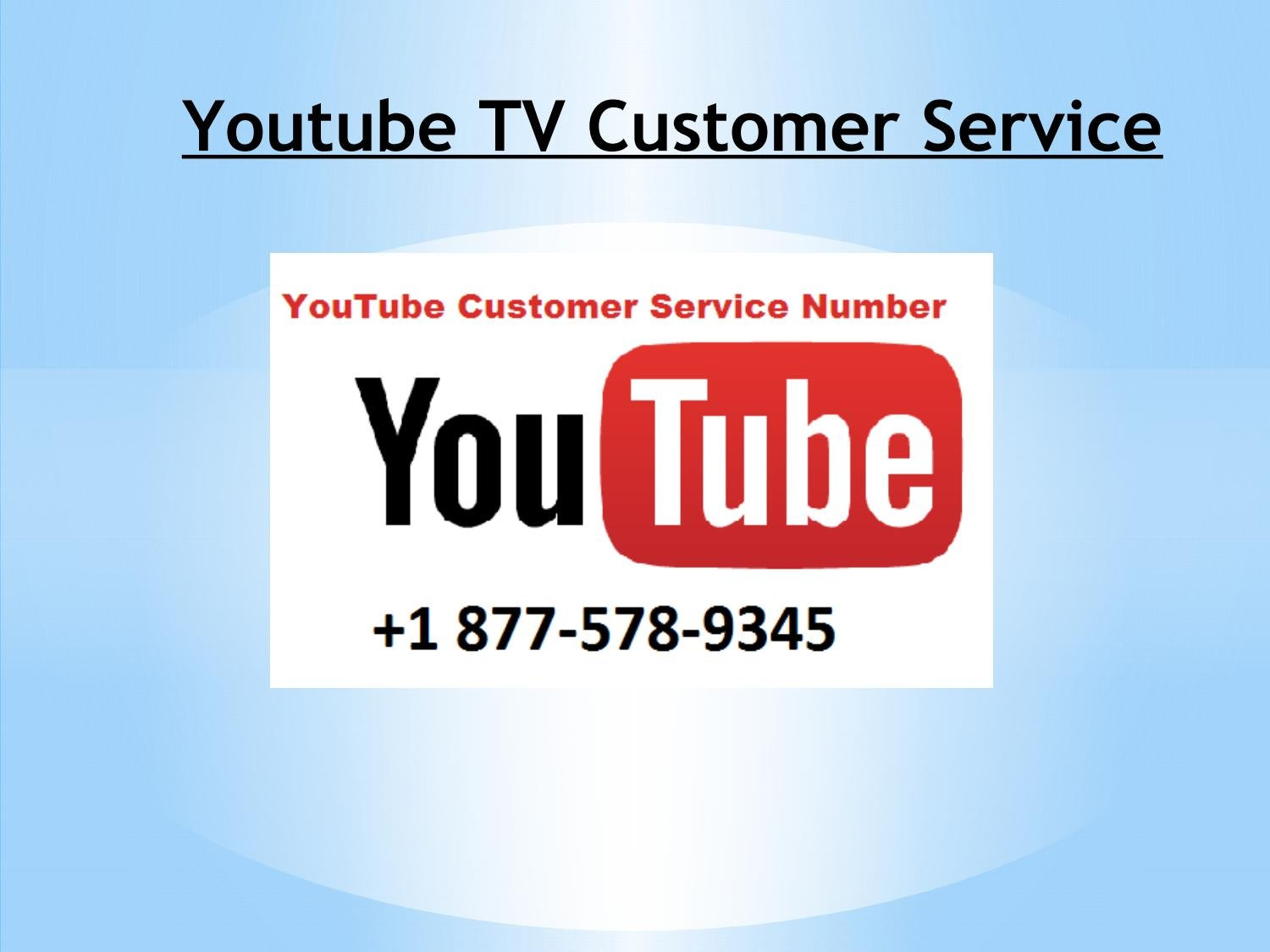 Youtube TV +1 877~578-9345 Technical Support Phone Number