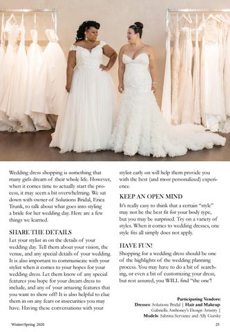 Page 27 of Tips for Wedding Dress Shopping!