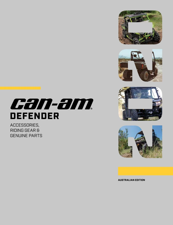 Can-Am Defender Max 1000 XT//DPS 2017-2018 Both Front Wheel Bearings And Seals