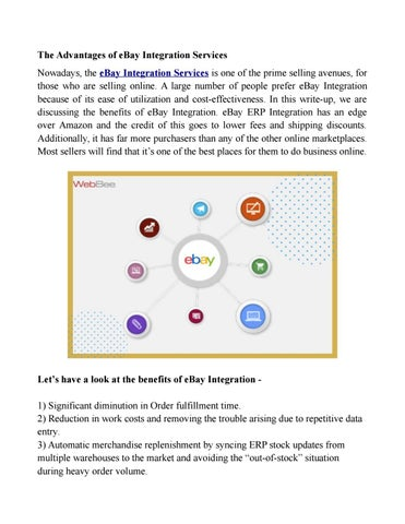 Ebay Integration Services By Ecommerceintegration Issuu