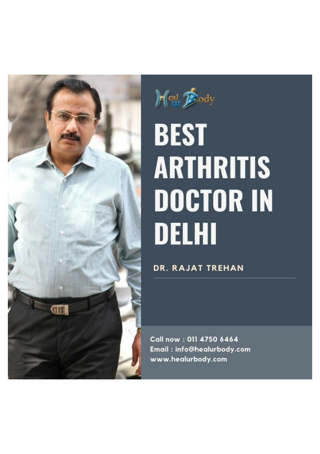 Best Arthritis Doctor Near me   Dr. Rajat Trehan by trehanrajat ...