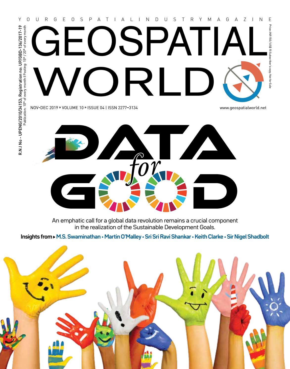 Data For Good By Geospatial Media Issuu