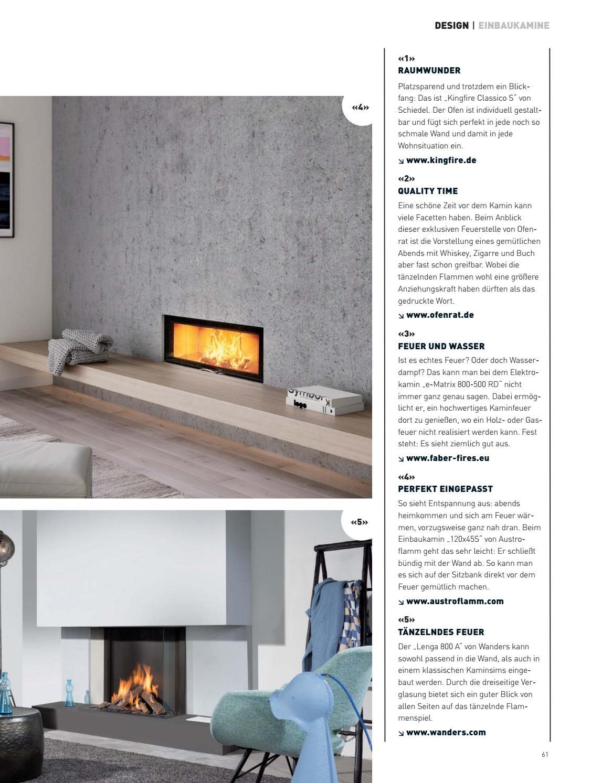 Fire Design Magazin Nur Die Schonsten Ofen Kamine Und Feuerstellen Vebuka Com