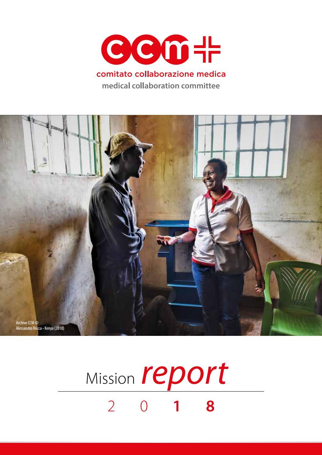 Specchi Per Palestra On Line ccm mission report 2018 by comitato collaborazione medica