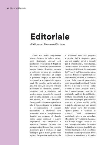 Page 6 of Editoriale - Nipoti di Maritain n. 08