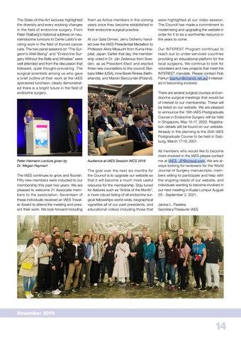 Page 14 of IATSIC Report