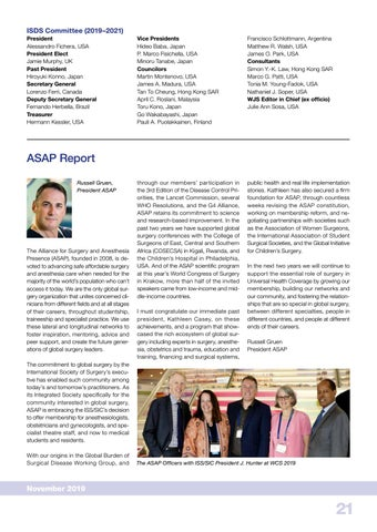 Page 21 of ASAP Report