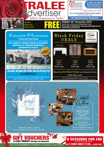Issue 46 November by TraleeAdvertiser - issuu on