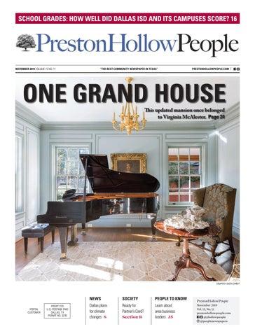 Preston Hollow People November 2019 By People Newspapers Issuu