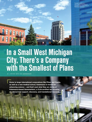 Page 10 of Genemarkers: A Small Michigan Company with the Smallest of Plans