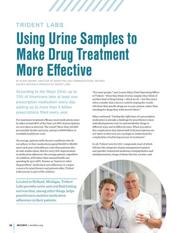 Page 28 of Trident Labs: Using Urine Samples to Make Drug Treatment More Effective