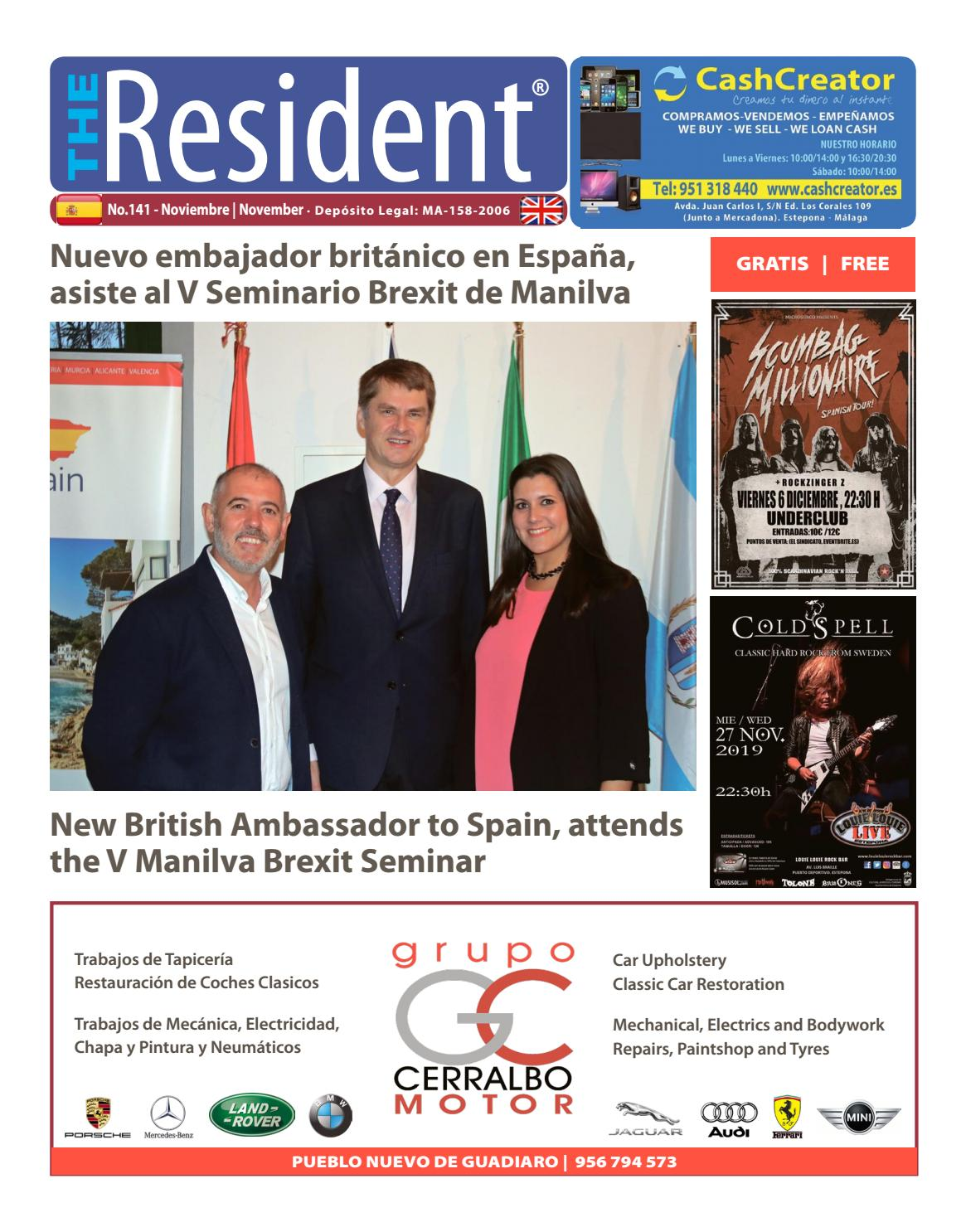 The Resident November 2019 By Manilva Media Workshop Sll Issuu