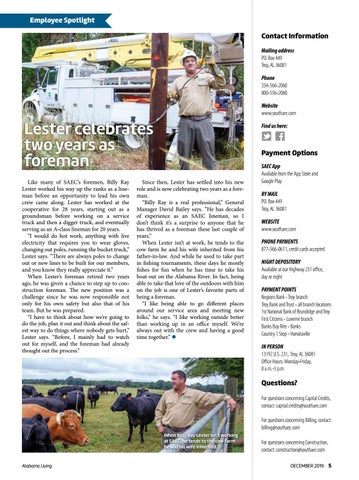 Page 4 of Lester celebrates two years as foreman