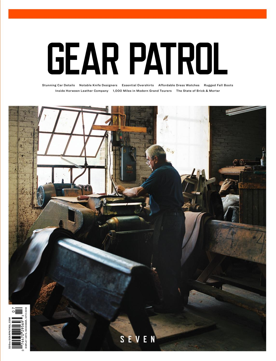 Gear Patrol Magazine Issue Seven The Style And Design Issue By Gear Patrol Issuu