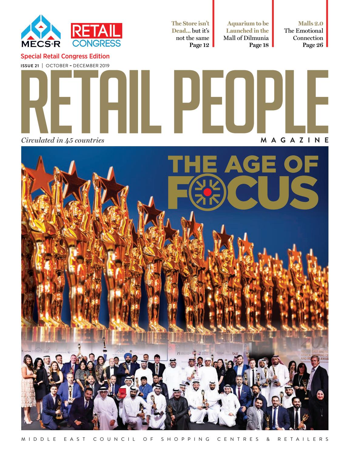 The Retail People Magazine Issue 21 The Age Of Focus By Mecs R Mecsc Publications Issuu