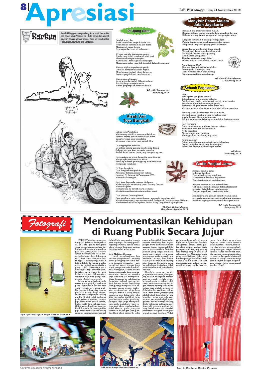 Edisi Minggu 24 Nopember 2019 Balipost Com Vebuka Com