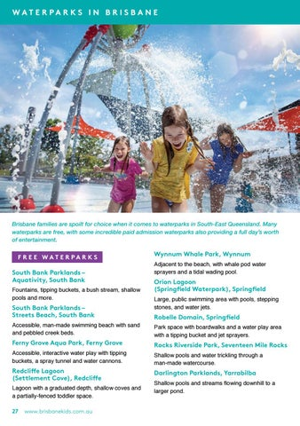 Page 28 of 14 Waterparks in Brisbane to enjoy on the Summer holidays