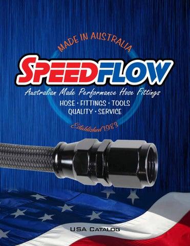"Speedflow 3//8/"" NPT Male to 5//8/""-18 Female Temperature Probe Adapter 660-06"