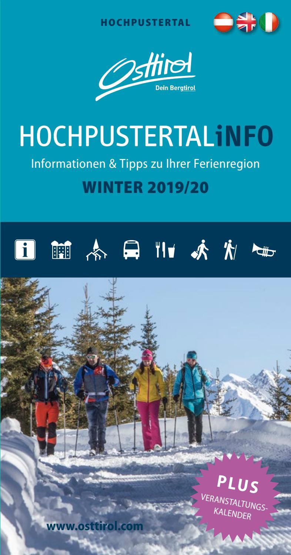 Hochpustertalinfo Winter 201920 by Armin Zlöbl issuu