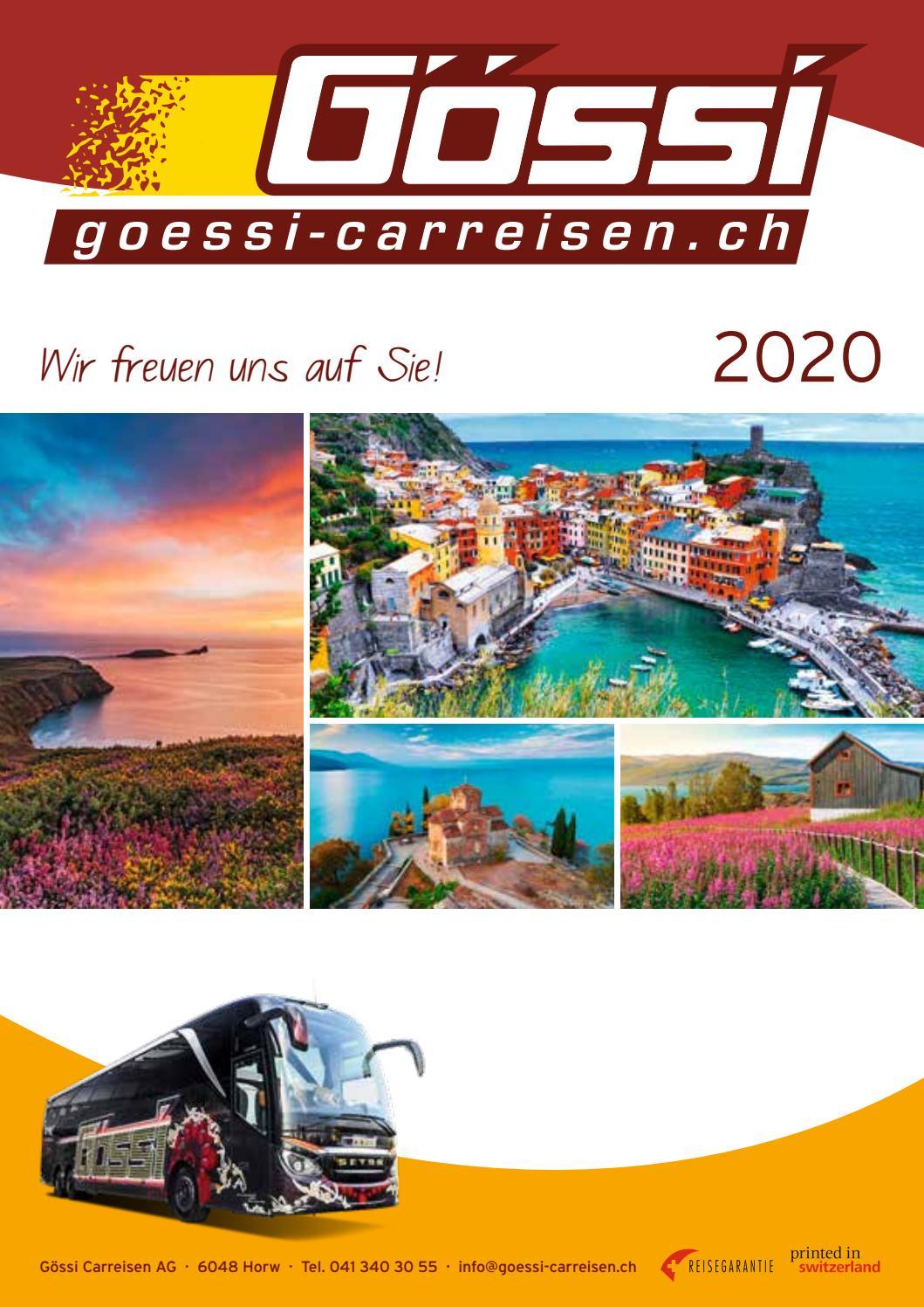 Hauptkatalog 2020 by Gössi Carreisen - issuu