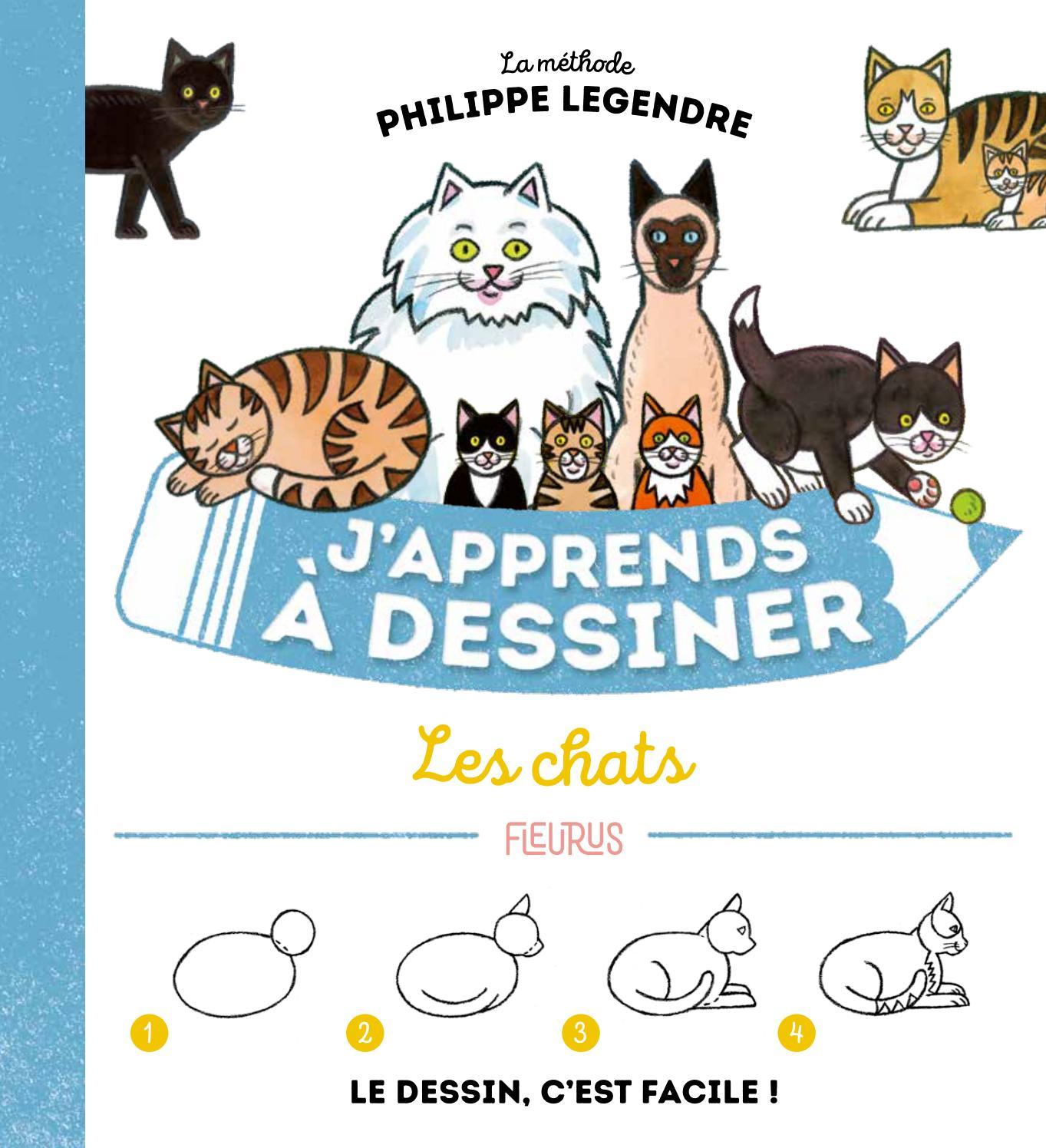 Japprends à Dessiner Les Chats By Fleurus Editions Issuu