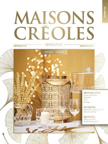 Magazine Maisons Créoles N°130 Martinique by Magazine ...