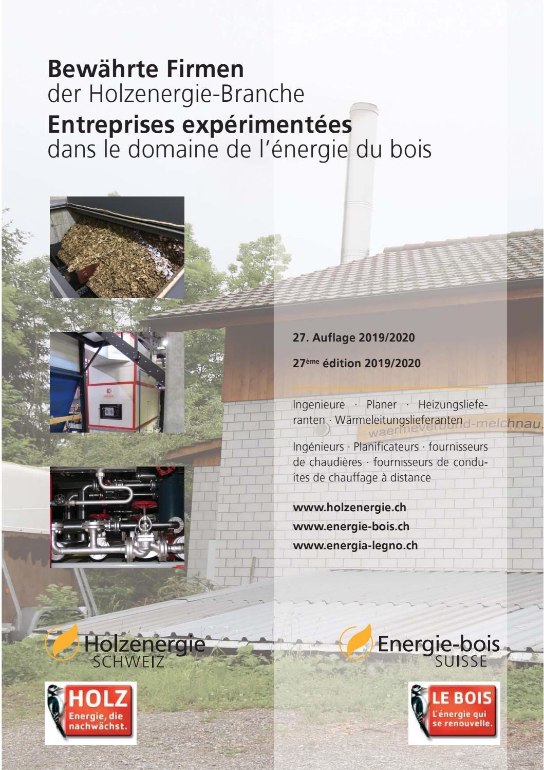 Bewährte Firmen by Energie-bois Suisse - issuu