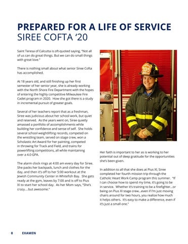 Page 8 of Siree Cofta '20 - Prepared For A Life Of Service