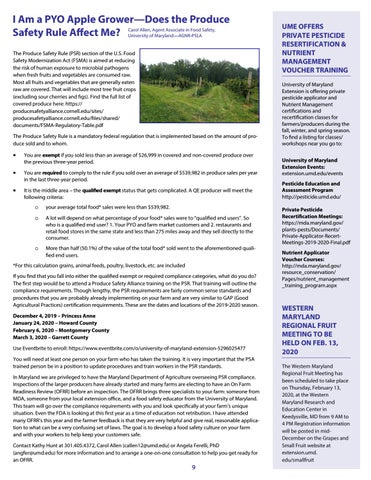 Page 9 of I Am a PYO Apple Grower—Does the Produce Safety Rule Affect Me?