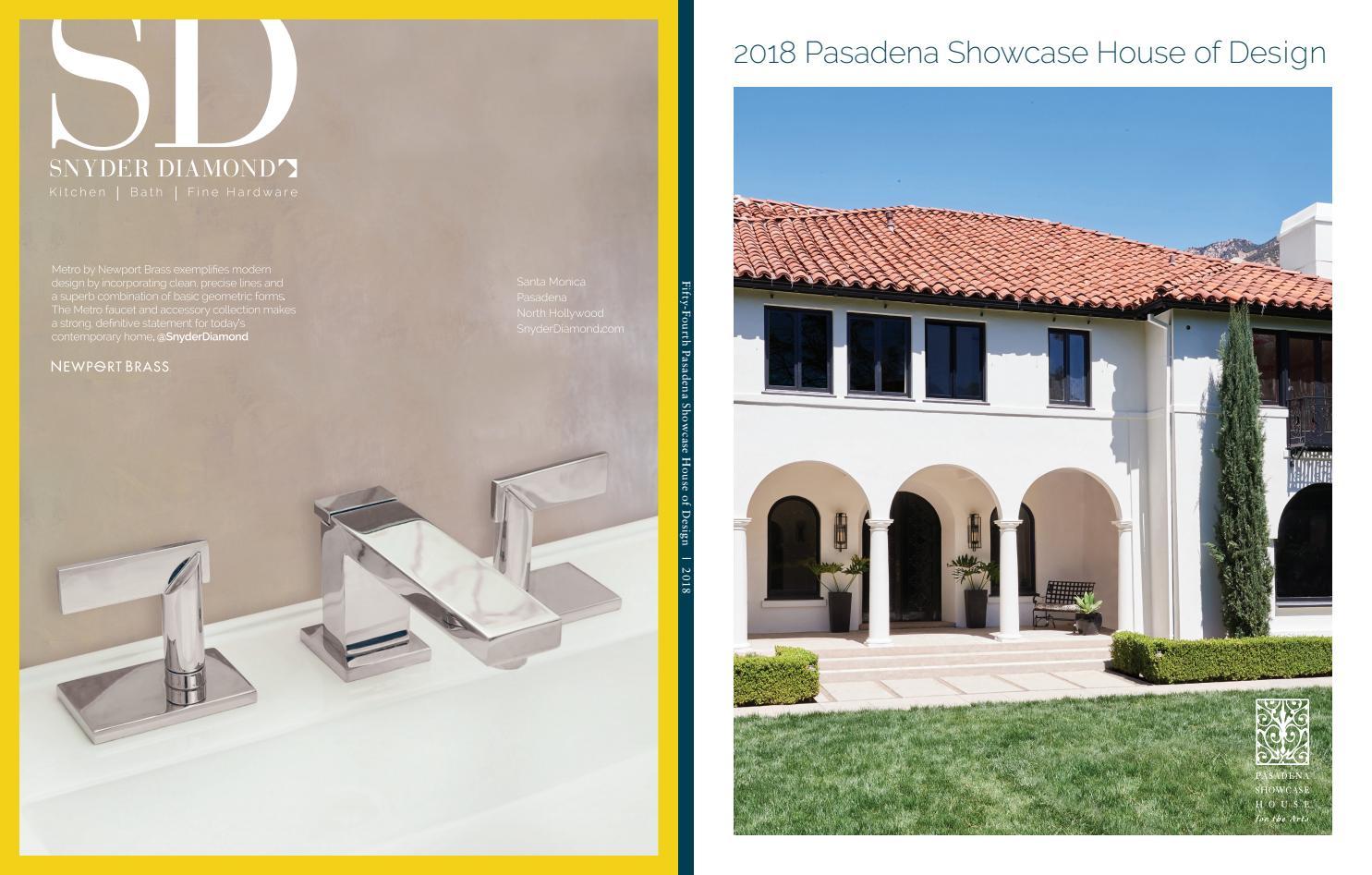Showcase 2018 By Pasadena Showcase House For The Arts Issuu