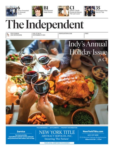 The Independent 112719 by The Independent Newspaper issuu