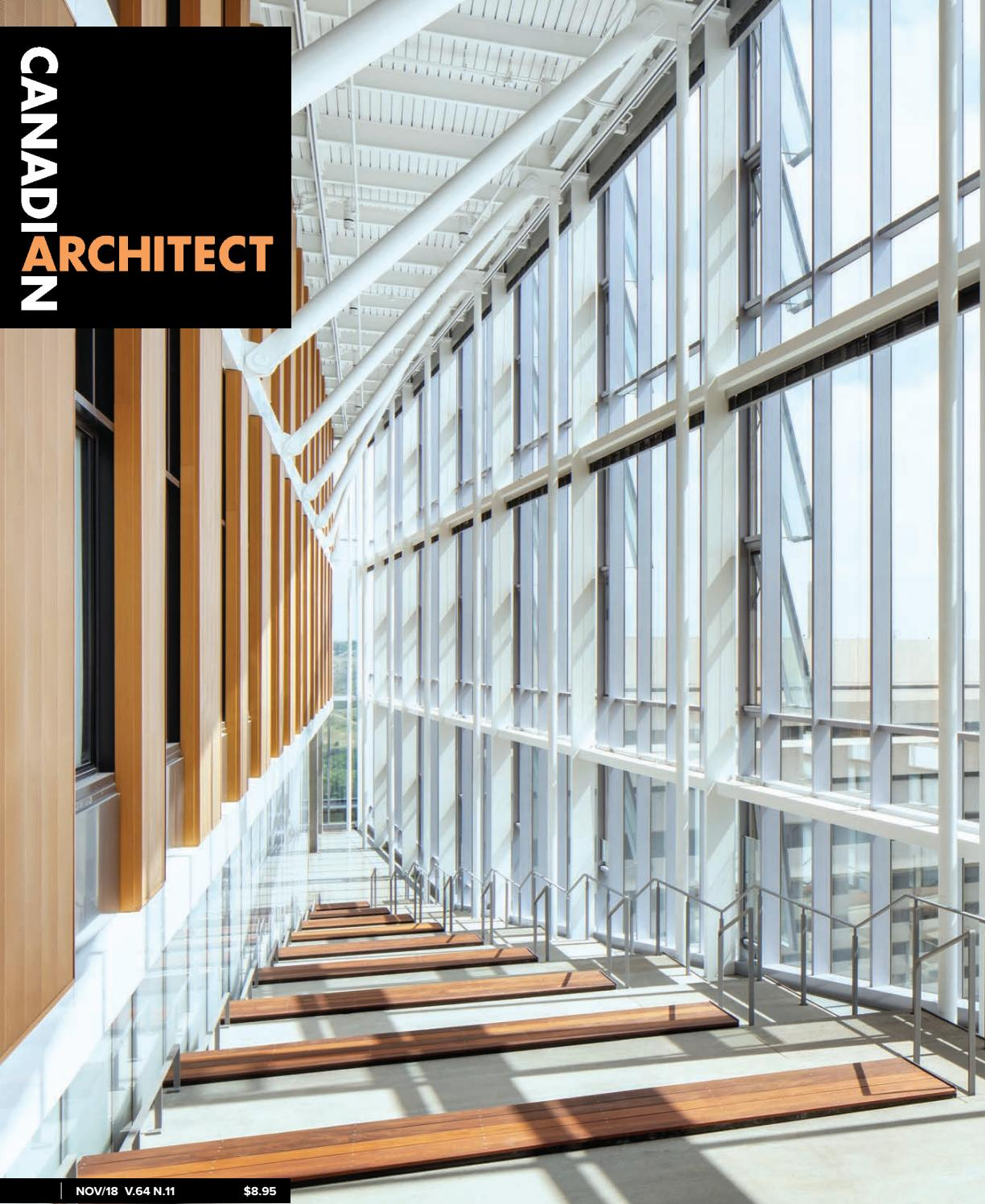 Fabriquer Une Balustrade En Bois canadian architect november 2019iq business media - issuu