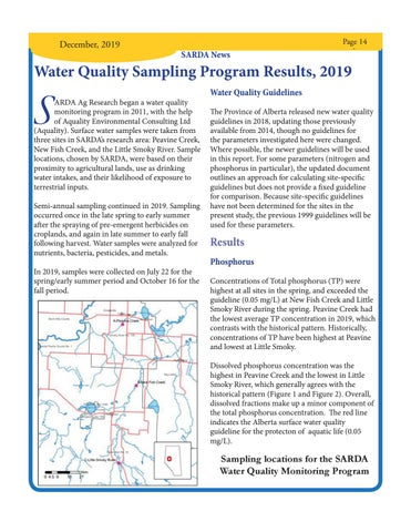 Page 13 of Water Quality Sampling Program Results, 2019
