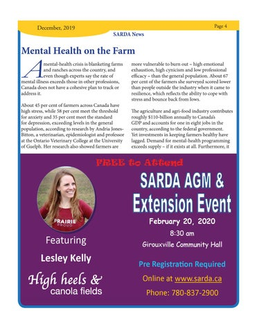 Page 4 of Mental Health on the Farm