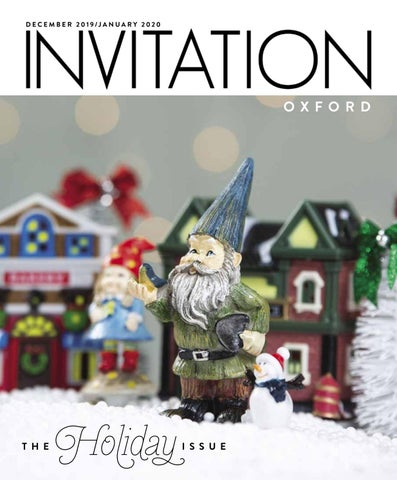 Nmso Christmas Concert 2020 Invitation Oxford   December 2019/January 2020 by Invitation