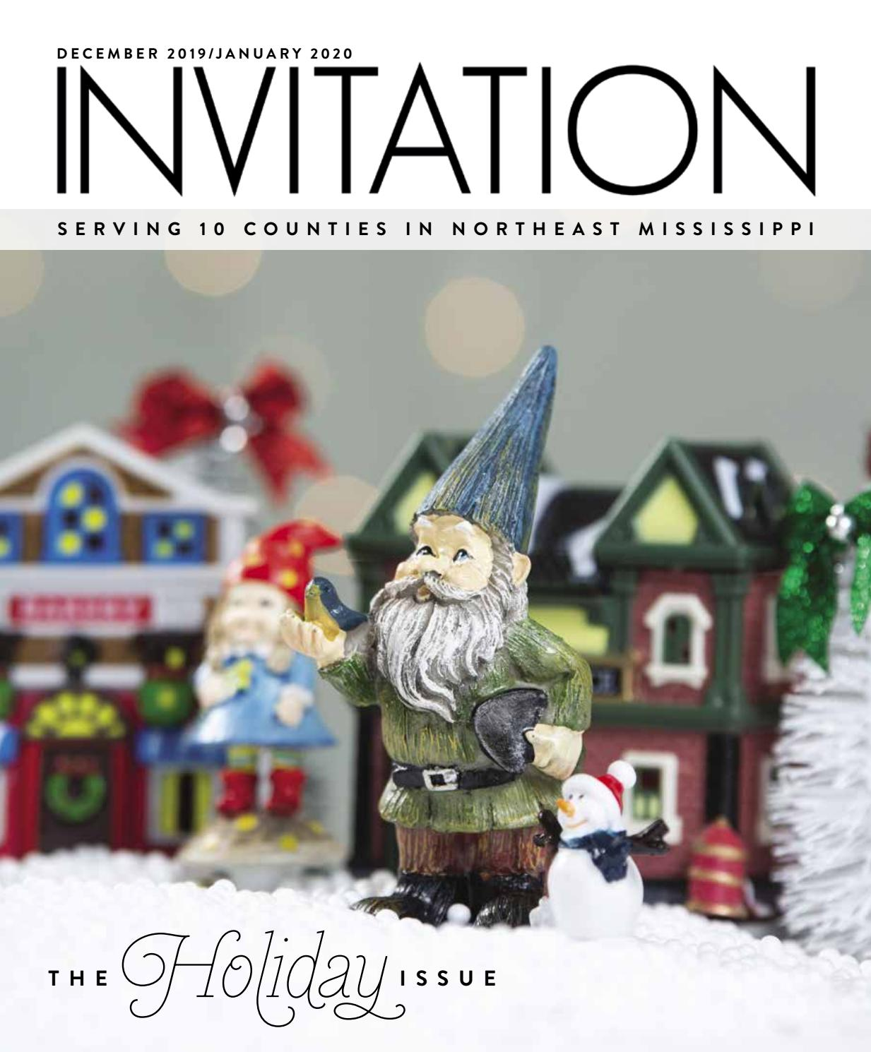 Nmso Christmas Concert 2020 Invitation Magazine   December 2019/January 2020 by Invitation