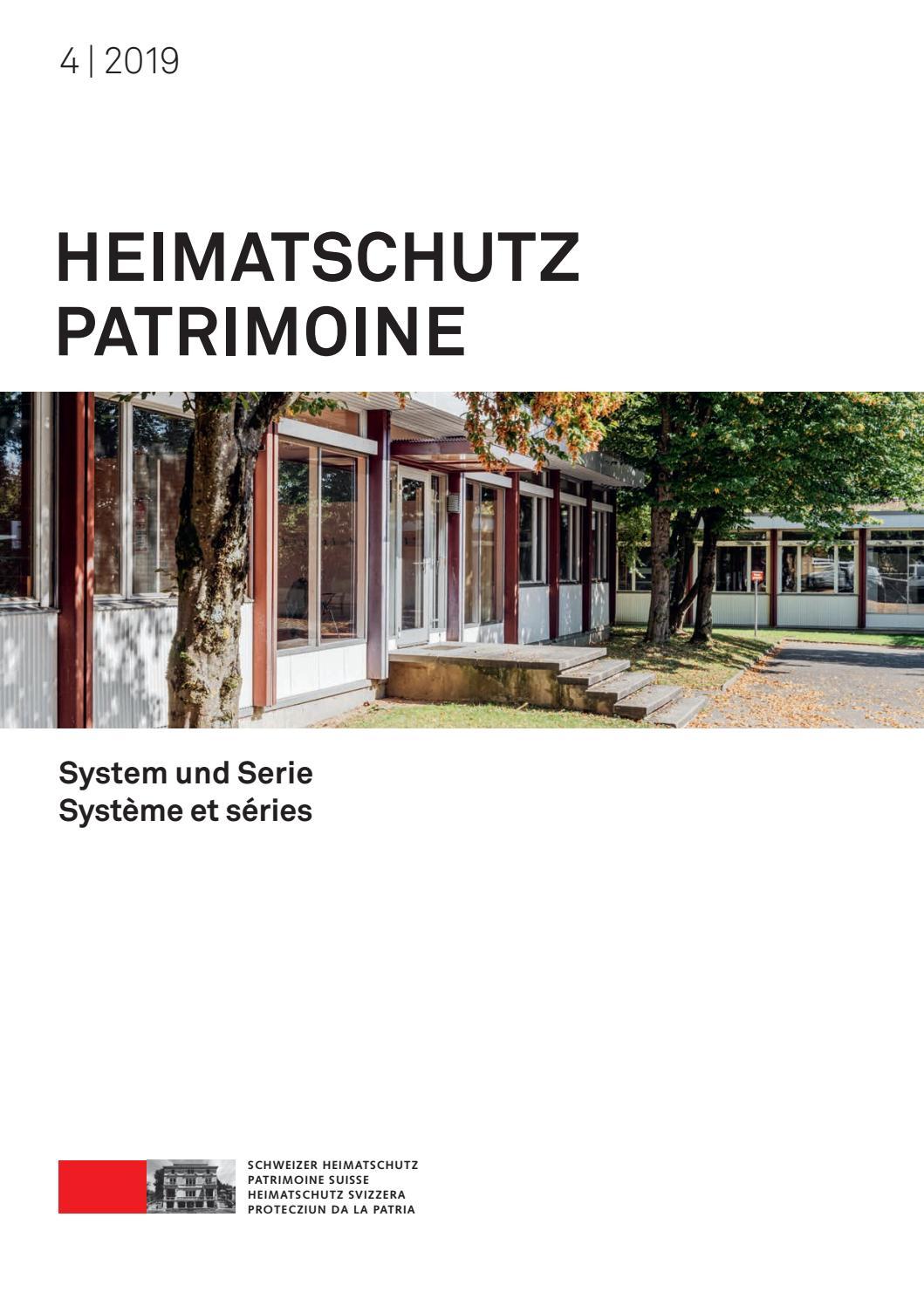 Heimatschutz/Patrimoine 4-2019 by Schweizer Heimatschutz - issuu
