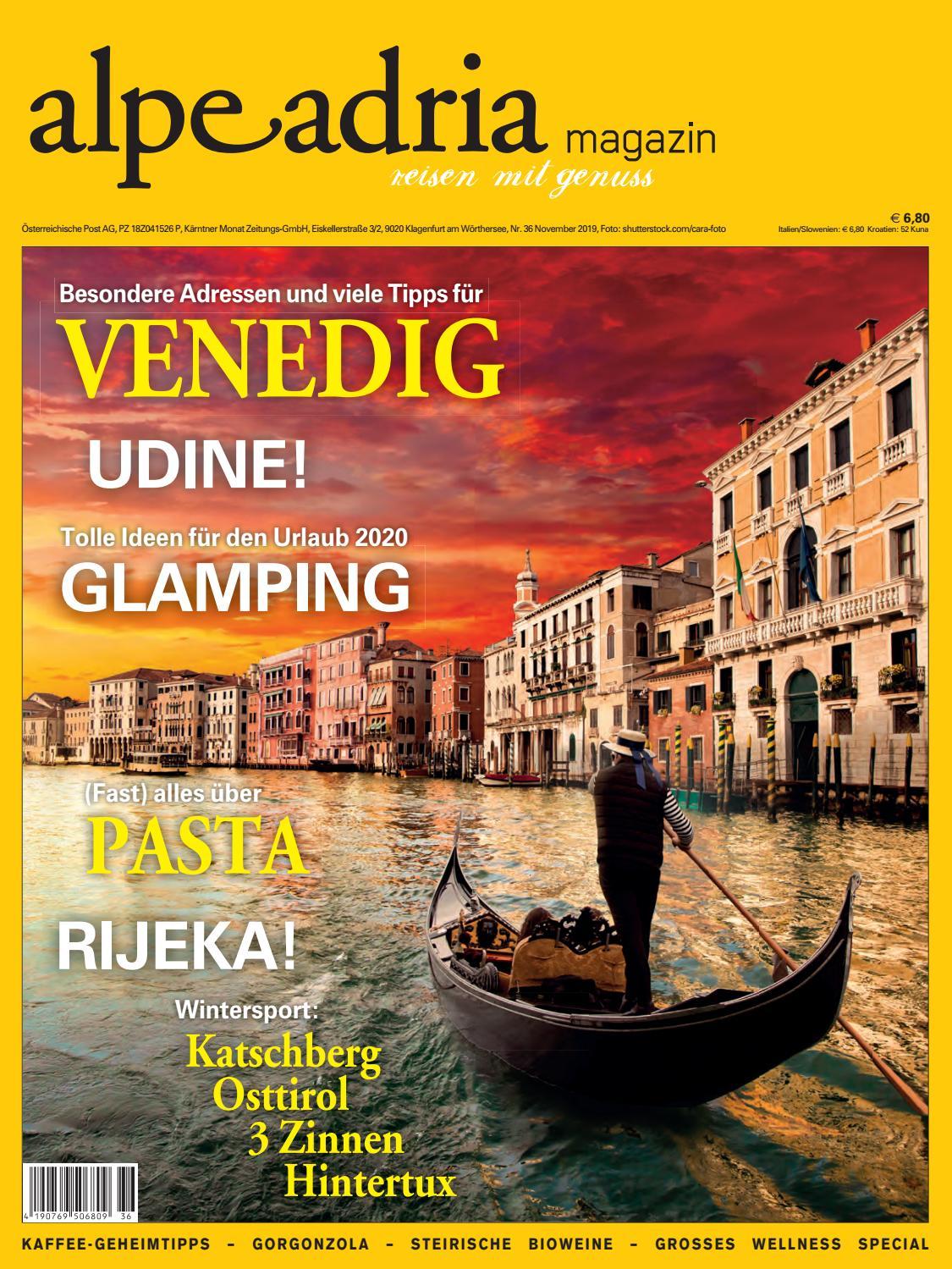 Alpe Adria Magazin Nr. 36 November 2019 by Bundesländerinnen